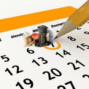 Kalender Brennstoffe