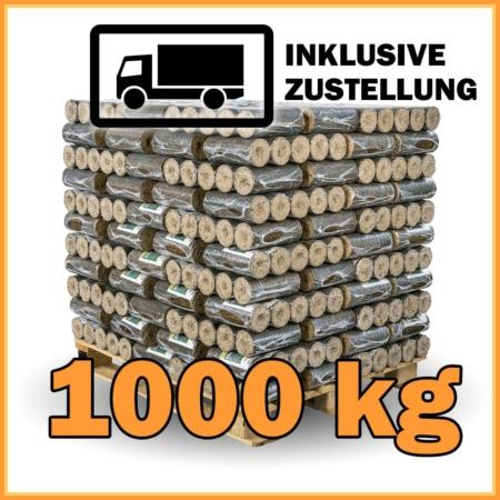 100 Pakete Hartholzbriketts mit Lieferung