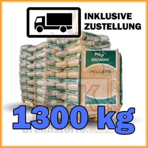 1300 kg Holzpellets kaufen in 15 kg Säcke