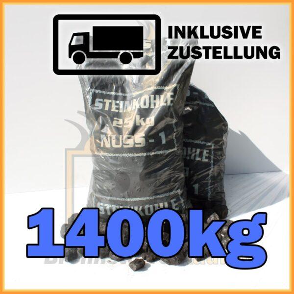 1400kg Steinkohle Nuss1
