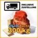 300 kg Brennholz 25 cm kaufen mit Lieferung