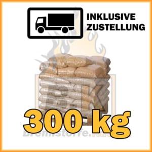 300 kg Holzpellets Sackware ENplus A1