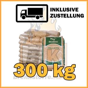 300 kg Holzpellets kaufen in 15 kg Säcke