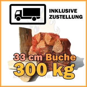 300 kg Kaminholz Buche kaufen
