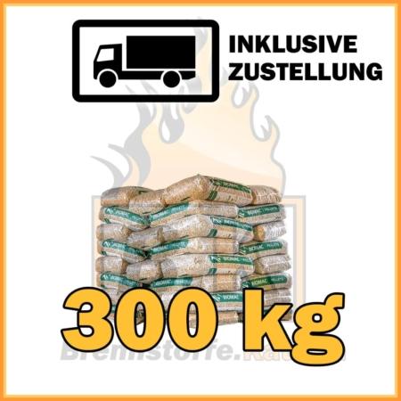 300 kg Pellets Sackware Fichtenholz mit Lieferung