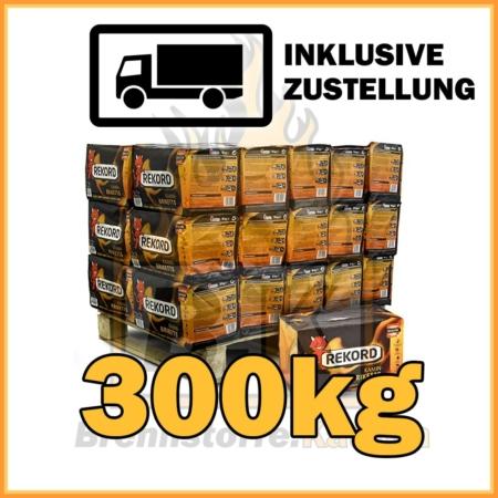 300kg Rekord Briketts 10kg Pakete