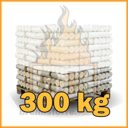 300 kg Weichholzbriketts mit Lieferung
