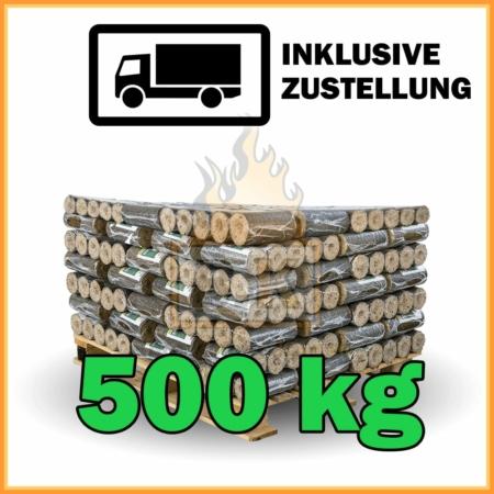 50 Pakete Hartholzbriketts mit Lieferung