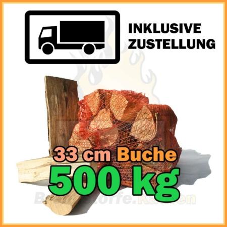 500 kg Brennholz 33 cm Kaminholz 500 kg