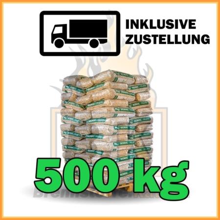 500 kg Pellets Sackware Fichtenholz mit Lieferung