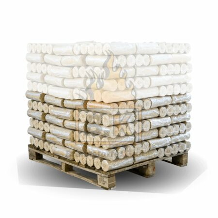 50 Pakete Weichholzbriketts mit Lieferung