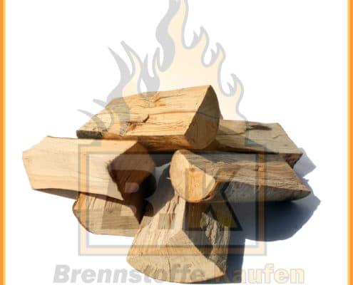 Brennholz 25 cm, Haufen