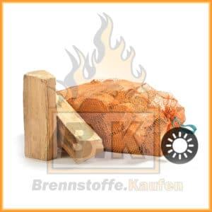 Brennholz Netzsäcke
