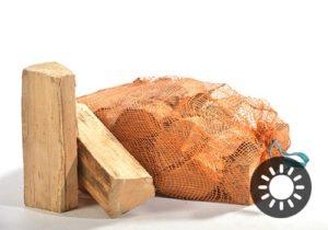 Holz Buche 25cm Netzsäcke