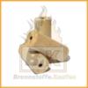 Holzbriketts hell mit Loch 3 Stück