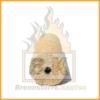Holzbriketts hell mit Loch 1 Stück