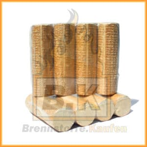 Holzbriketts ohne Loch 2 Pakete