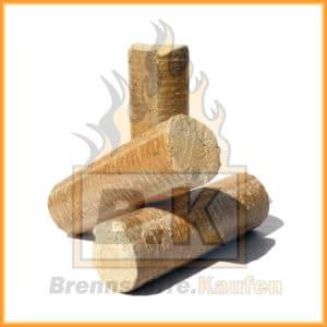Holzbriketts ohne Loch 3 Stück