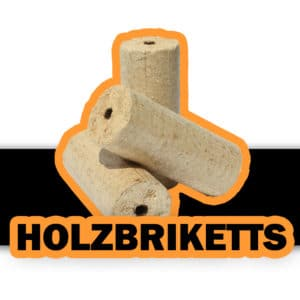 Holzbriketts Logo