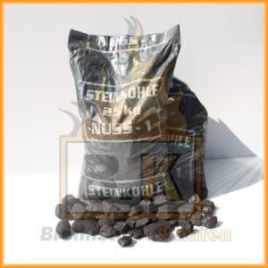Steinkohle nuss 1 (40 bis 60mm) 25kg Sack