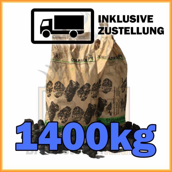1400kg Steinkohle Nuss 2