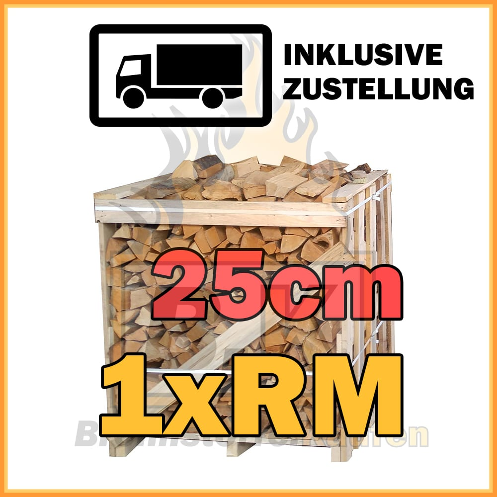 1x rm kiste brennholz buche 25cm getrocknet inklusive zustellung brennstoffe kaufen. Black Bedroom Furniture Sets. Home Design Ideas