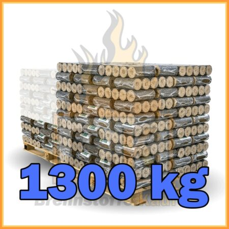 1300 kg Hartholzbriketts mit Lieferung - Wien und Umgebung