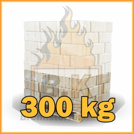 300 kg Buchenholzbriketts ziegelform RUF mit Lieferung