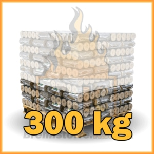 300 kg Hartholzbriketts mit Lieferung