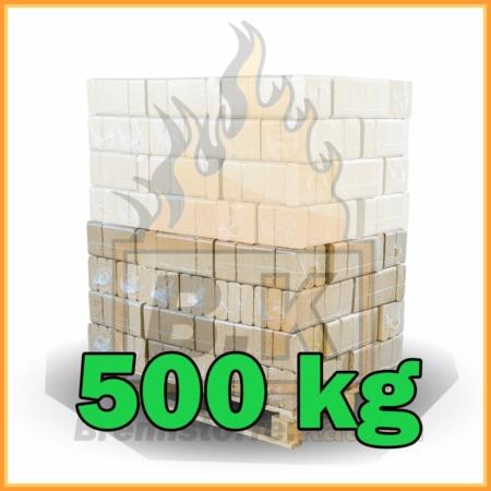 500 kg Buchenholzbriketts ziegelform RUF mit Lieferung