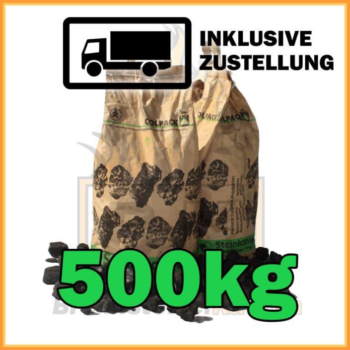 500kg Steinkohle Nuss 2