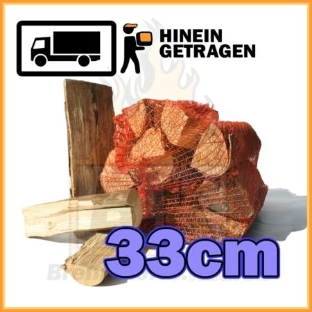 Buchenholz 33cm im Netzsack (ca. 13kg)