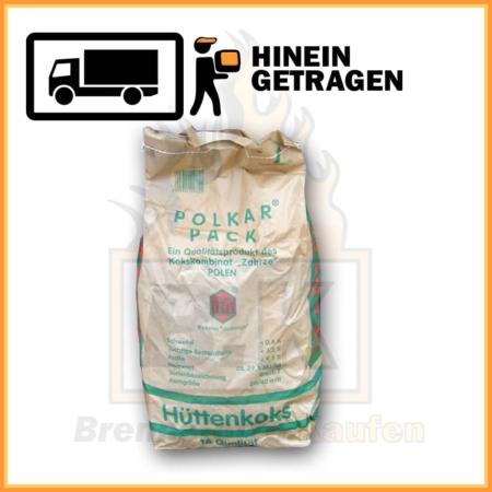 Hüttenkoks Brech 3 im 10 kg Papiersack