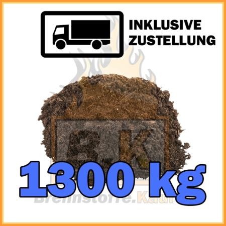 1300 kg Blumenerde universal in 40 Liter Säcken