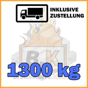 1300 kg Pauschaleinheit