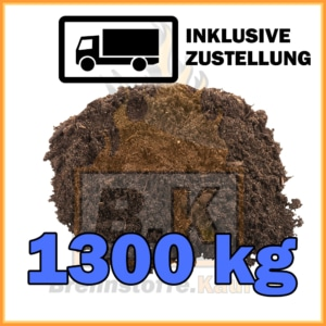 1300 kg Gartenerde kaufen inklusive Lieferung
