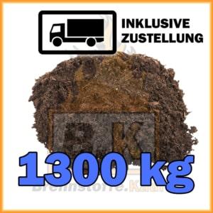 1300 kg Gartenerde / Blumenerde mit Lieferung