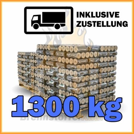 1300 kg Hartholzbriketts kaufen