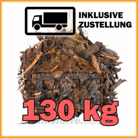 130 kg Rindenmulch mit Lieferung