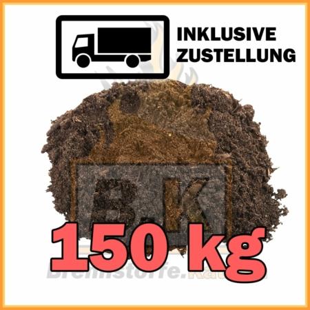 150 kg Gartenerde / Blumenerde mit Lieferung