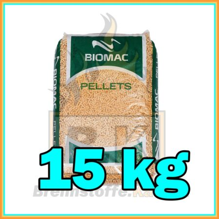 Holzpellets im 15 kg Sack