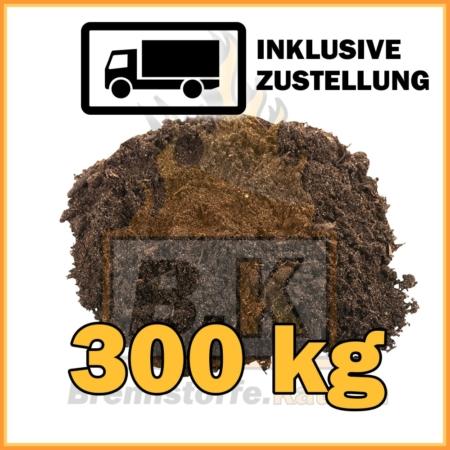 300 kg Gartenerde kaufen inklusive Lieferung
