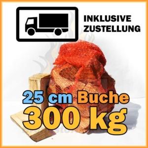 300 kg Kaminholz Buche 25 cm kaufen