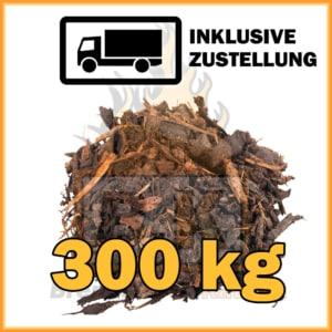 300 kg Rindenmulch kaufen