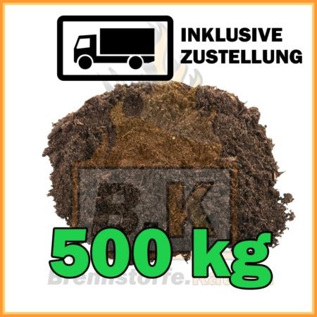 500 kg Gartenerde kaufen inklusive Lieferung
