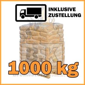 1000 kg RZ Pellets mit Lieferung