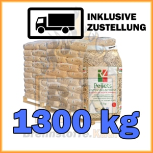 1300 kg RZ Pellets kaufen mit Lieferung