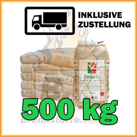 500 kg RZ Pellets kaufen mit Lieferung