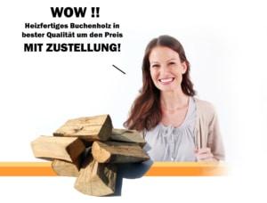 Kaminfertiges Buchenholz Brennholz mit Lieferung