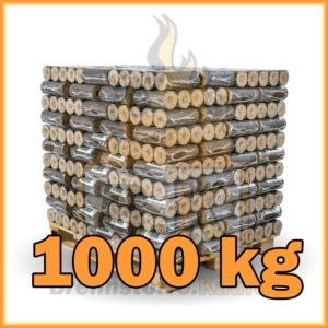 1000 kg Hartholzbriketts mit Lieferung - Wien und Umgebung